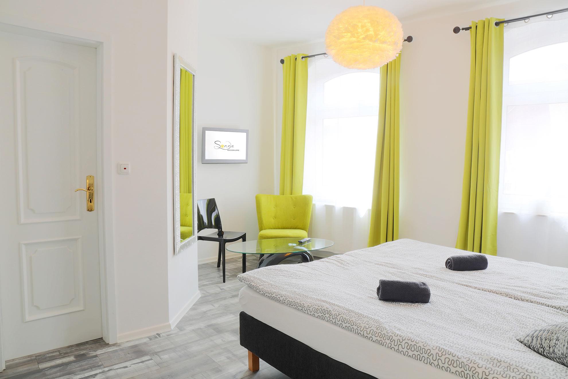 Zimmer Molino mit runden Designelementen
